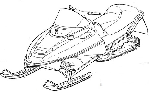 1995-2005 Yamaha BR250F Snowmobile Service Repair Manual