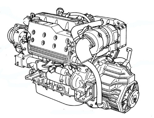 Yanmar Marine Diesel Engine 6LP and 6LPA Series Service