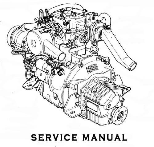 Yanmar Marine Diesel Engine 6GH-UTE 6GHA(M)-STE Service