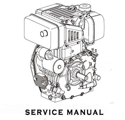 Yanmar Air Cooled Diesel Pump YDP Series Service Repair