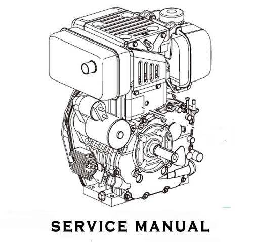 Yanmar TS190(R) TS230(R) Series Engines Service Repair