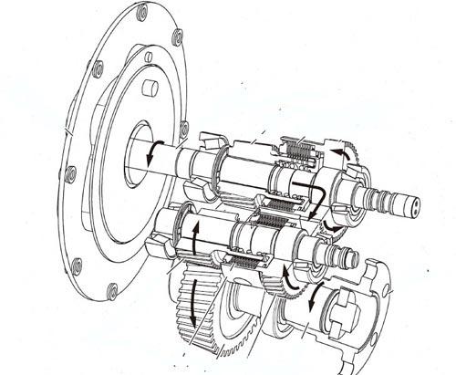 Yanmar KMH40A KMH50A KMH50V Marine Gear Service Repair
