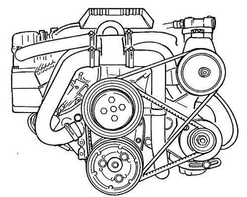 1994 Mercruiser Gasoline Engines Technician´s Handbook