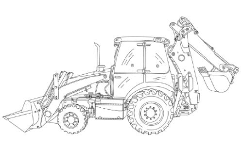 Free Case 580 Super E Loader Backhoe Service Manual