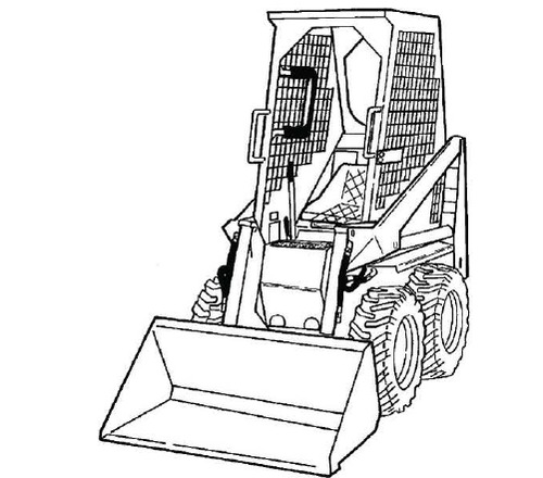 Bobcat 600 600D 610 611 Loader Service Repair Manual