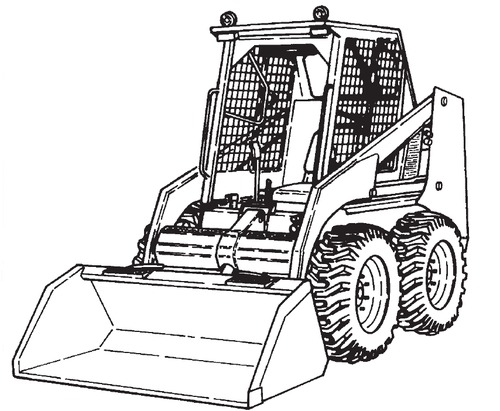 Bobcat 741 742 743 743DS Loader Service Repair Manual