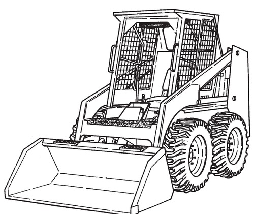 Bobcat 843 843B Loader Service Repair Manual Download