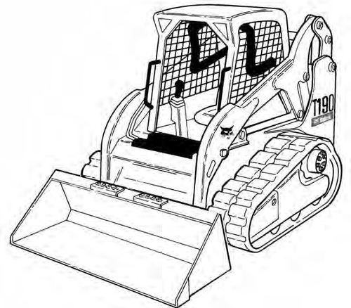 Bobcat T190 G Series Track Loader Service Repair Manual