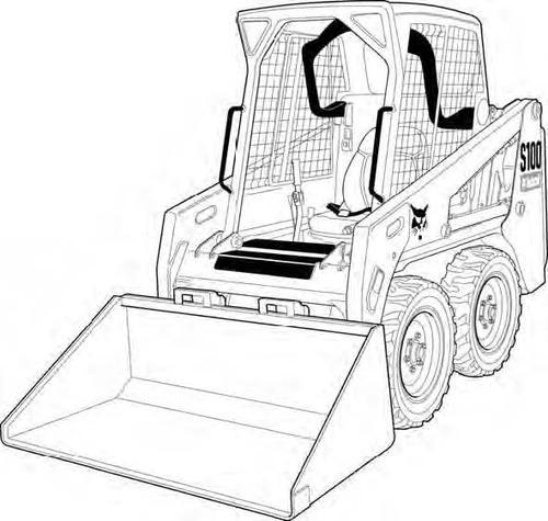 Bobcat S100 Skid-Steer Loader Service Repair Manual