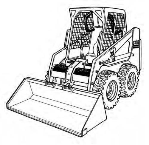 Bobcat S130 Skid-Steer Loader Service Repair Manual