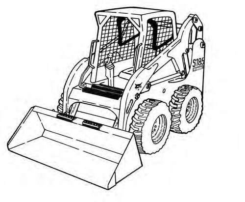 Bobcat S185 Skid-Steer Loader Service Repair Manual