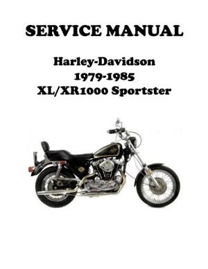 19791985 XLXR 1000 Sportster Ironhead Service Manual