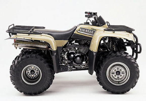 Yamaha Wolverine 350 Wiring Diagram Yamaha Yfm400p Big Bear Owners Manual 2002 Model Tradebit
