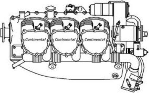 Continental Aircraft Engines IO520 Operators Manual