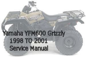 Yamaha YFM600 Grizzly Service Manual  Download Manuals