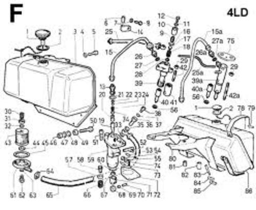 lombardini diesel 4LD 640-705-820 master service manual