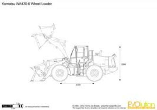 KOMATSU GALEO LOADER WA430-6 ops and maintenance manual