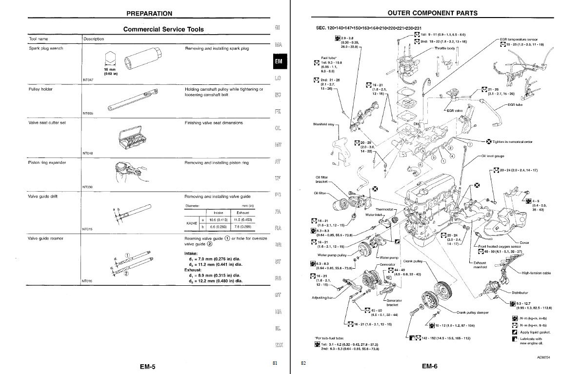 Nissan D21 Truck-Pathfinder Service-Repair manual 1990