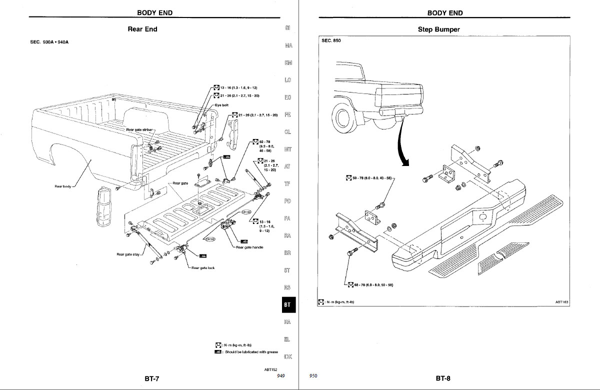 Nissan D21 Truck Factory Service-Repair manual for 1997