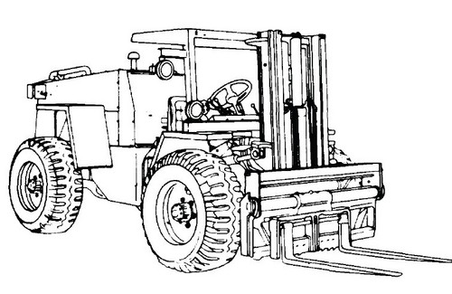 MHE 237 Forklift Truck (CASE MODEL M4K) Service Manual