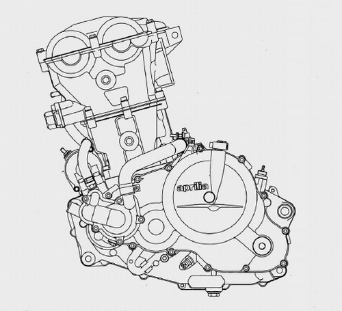 1995 Aprilia Pegaso Engine Type 655 Repair Manual