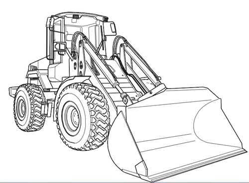 JCB 411 416 Wheeled Loader Service Repair Manual