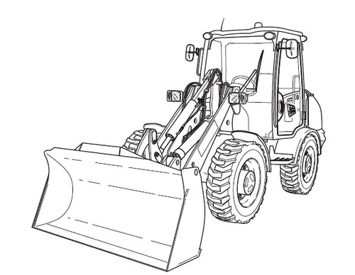 JCB 406 409 Wheeled Loader Service Repair Manual Download