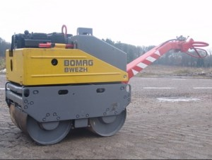 Bomag BW62H Walkbehind double drum vibrat roller Service