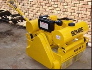 Bomag BW65 S2 Walkbehind double drum vibrat roller Service Parts