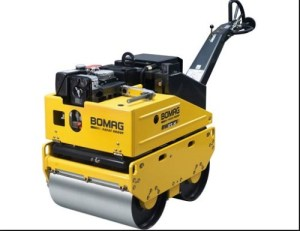 Bomag BW65H Walkbehind double drum vibrat roller Service