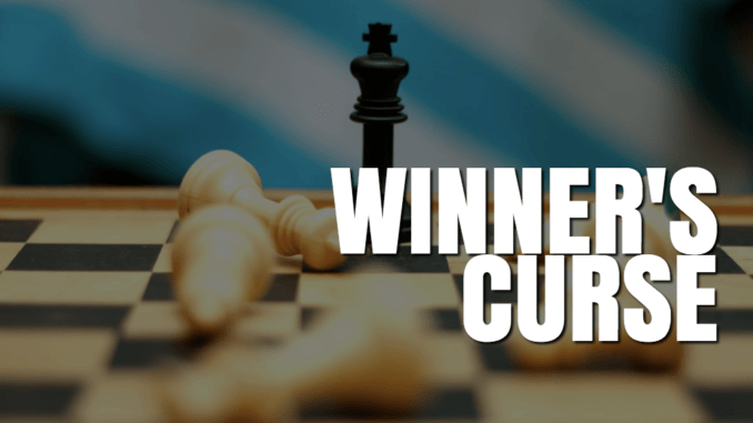 winner's curse- investing psychology