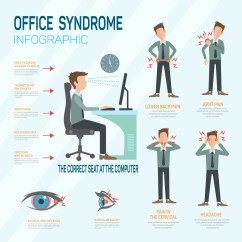 Office Chair Posture Tips Leather And Metal How Dangerous Is Trading For Your Health To Improve