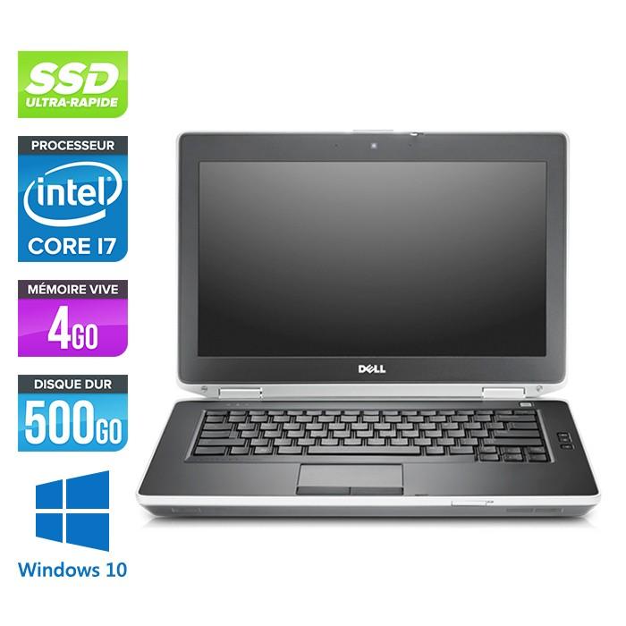 Pc portable reconditionné DELL Latitude E6430 - i7 - 4Go - 500Go SSD - 14P HD+ - Windows 10 - Trade Discount.