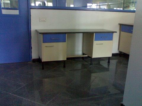 revolving chair vadodara with steel legs 2 tier lab trolley manufacturer exporters supplier gujarat