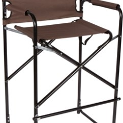 Tall Director Chair Steelers Lightweight And Durable Aluminum Folding S By Trademark Innovations