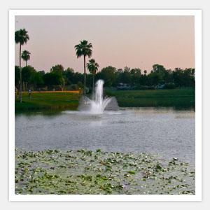 Southwest Florida Lake Water Fountain Company