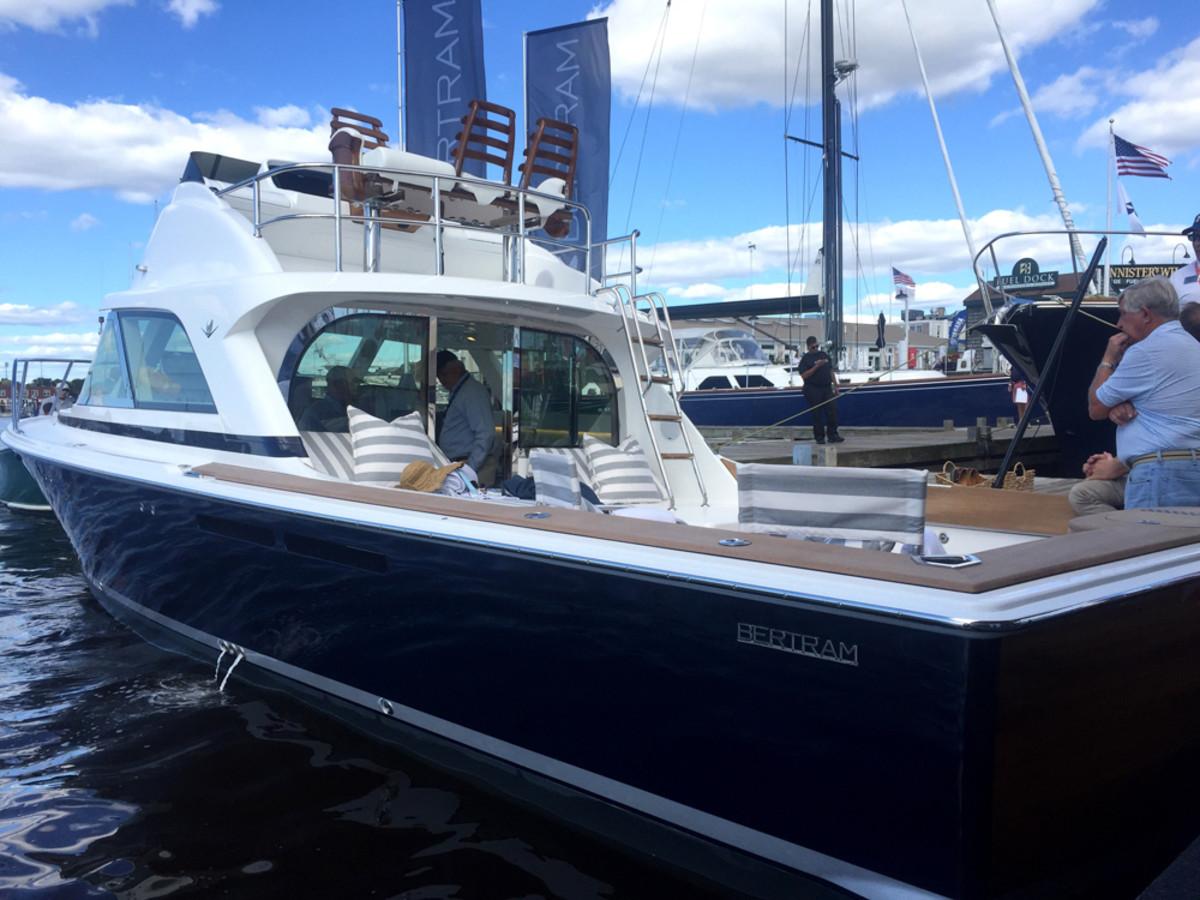 NEWPORT 2016 Bertram Yachts Debuts 35 Footer Trade Only