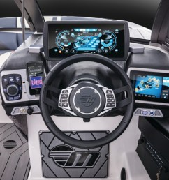 the axis t22 command center helm puts control of everything from the ballast system to the [ 1200 x 801 Pixel ]