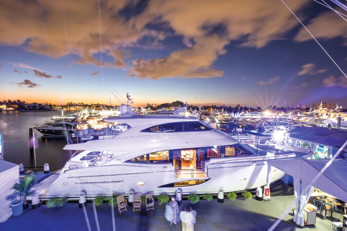 hight resolution of the viking 93 motor yacht was one of many new models introduced at the show