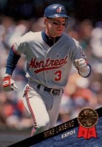 1993 Leaf Update Series Mike Lansing