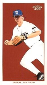 2002 Topps 206 Baseball 428 Khalil Greene Mini