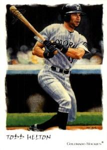 2002 Topps Gallery Baseball 27 Todd Helton