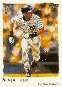 2002 Topps Gallery Baseball 58 Derek Jeter