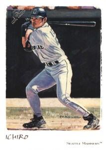 2002 Topps Gallery Baseball Variations 100 Ichiro