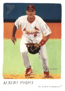 2002 Topps Gallery Baseball Variations 56 Albert Pujols