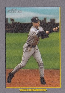 2006 Topps Turkey Red Baseball base 450 Derek Jeter