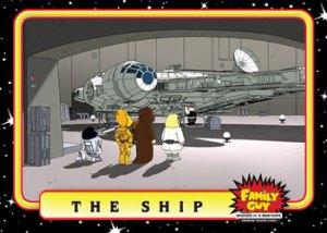 2008 Inkworks Family Guy Episode IV A New Hope Base