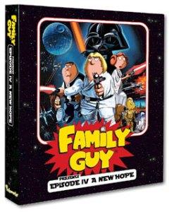 2008 Inkworks Family Guy Episode IV A New Hope Binder
