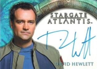 2008 Rittenhouse Stargate Heroes Autographs David Hewlett