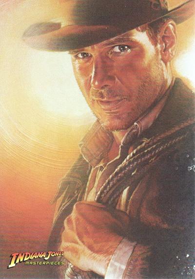 2008 Topps Indiana Jones Masterpieces Base